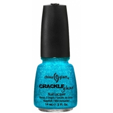 China Glaze Nail Polish Gleam Me Up  Crackle Glitters