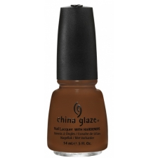 China Glaze Nail Polish Mahogany Magic - Hunger Games