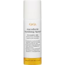 GiGi Anesthetic Numbing Spray for Sensitive Skin 42g