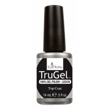EzFlow TruGel Geellakk Pealislakk Top Coat 14ml