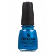 China Glaze Nail Polish Blue Iguana