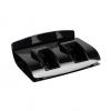 Beauty Image Base for Two Heater Applicators Black