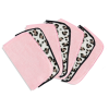 The Vintage Cosmetic Company 7 Day Make-Up Removing Cloths Leopard and Pink 7pc