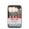 BYS Makeup Brushes In Keepsake Tin Pastel Rainbow 5 pc